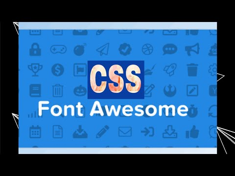 Fontawesome in css-what is font in css-css lecture 4-how to do this