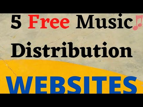 5 free music distribution websites in 60 seconds