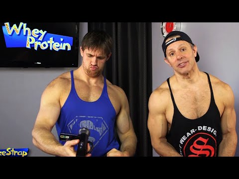 Whey protein - best protein for building muscle