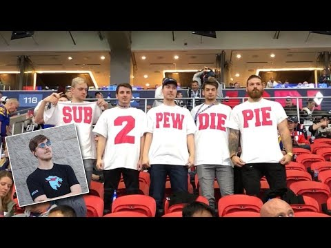 Mrbeast ad on super bowl 2019 subscribe to pewdiepie