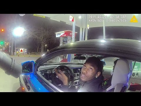 """Complete traffic stop of migos rapper offset; """"stop picking on black folks!"""""""