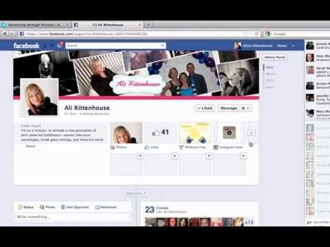 How to easily add instagram to your facebook page
