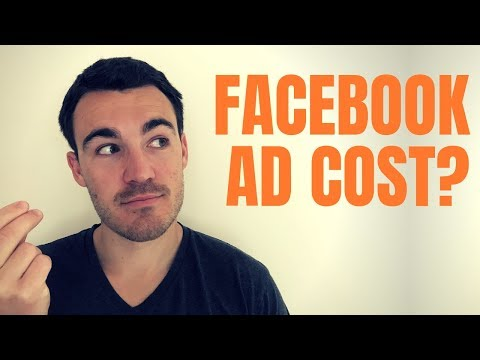 How much does facebook advertising cost in 2020?