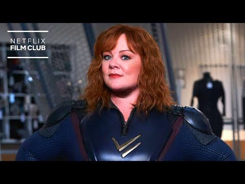Bobby cannavale can't get enough of melissa mccarthy   thunder force   netflix