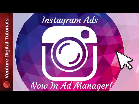 """Create instagram ads in facebook's """"ad manager"""" - how to"""