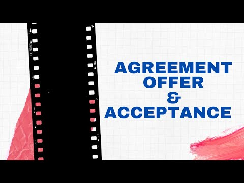 """""""contract law in kenya: agreements, offers and acceptance"""""""