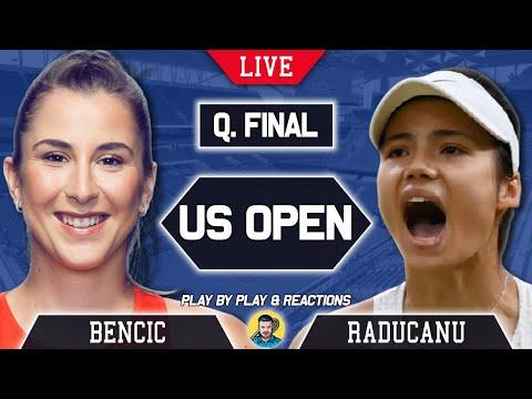 Bencic vs raducanu | us open 2021 | live tennis play-by-play