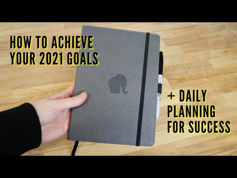 How to achieve your 2021 goals - 2021 goals & daily planning strategy