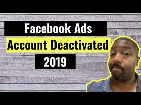 Facebook account deactivated   how to reactivate your ad account