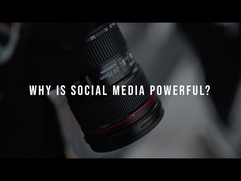Why is social media powerful?