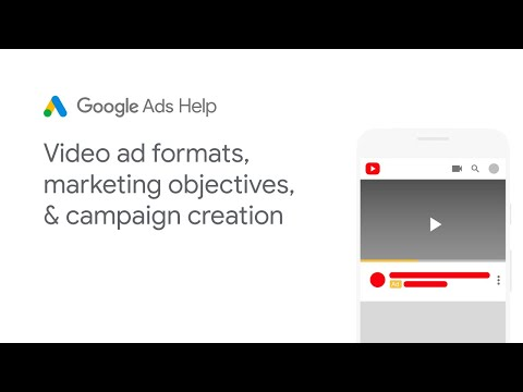 Google ads help: how to create a video campaign