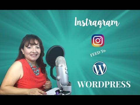 How to | add instagram feed to wordpress (wordpress instagram plugin)