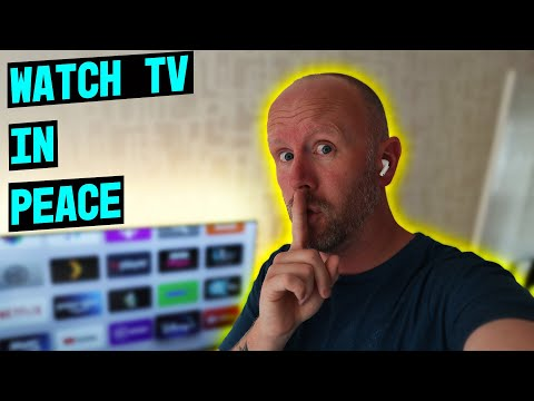 How to connect your apple airpods to your apple tv // watch tv in peace