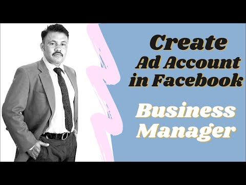 How to create an ad account in facebook business manager?   2020