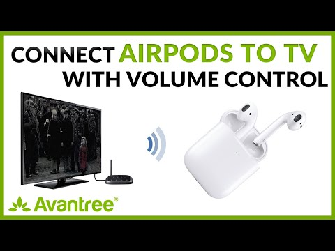How to connect airpods to tv (with volume control) - avantree oasis plus