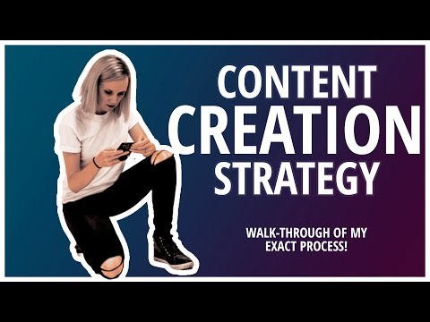 How to create a content creation strategy [my exact workflow]