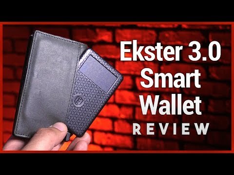 Ekster 3.0 smart wallet review - slim trackable & rfid-blocking wallet