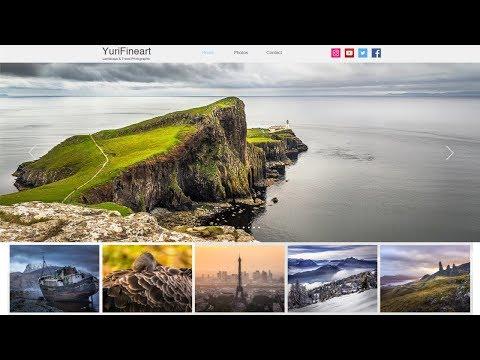 How to make a portfolio website - web design tutorial