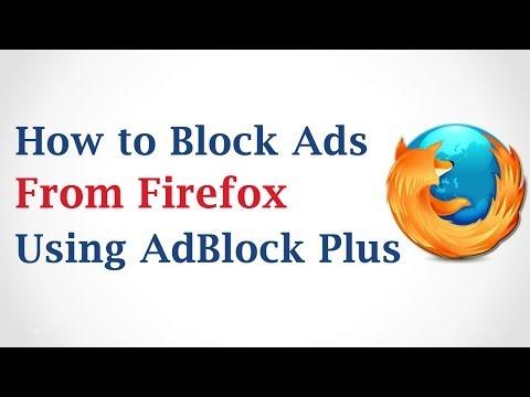 How to block ads in mozilla firefox using adblock plus
