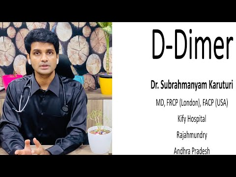 D-dimer test - clinical significance, indications, reference ranges