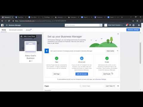 Chapter 4 - how to create your first ad account in facebook business manager ?