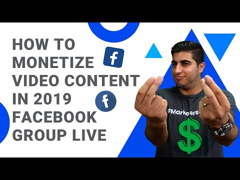How to monetize video content in 2019 - facebook group live | dashclicks
