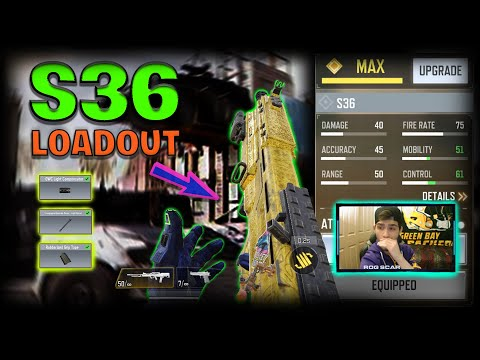 Best no recoil fast ads s36 attachments call of duty mobile s36 control mobility gunsmith loadout