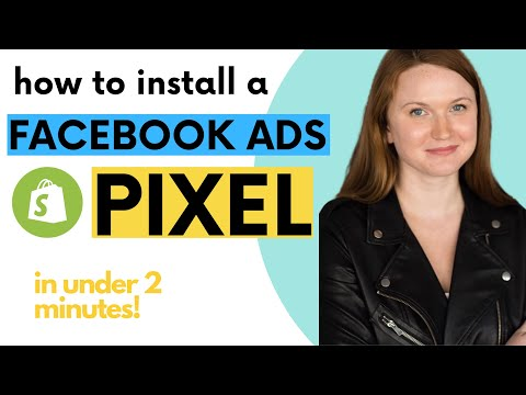 How to install a facebook ads pixel