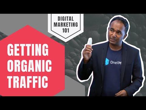 Why don't i get any organic traffic? digital marketing strategies for increasing organic traffic