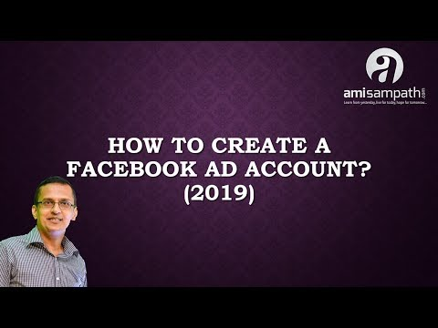 How to create a facebook ad account using personal facebook account (2019)