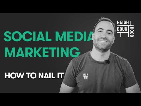 How to nail social media marketing - tips for all popular social media platforms