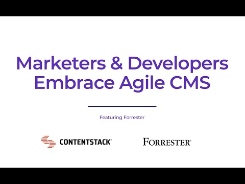 Why is agile cms so important?